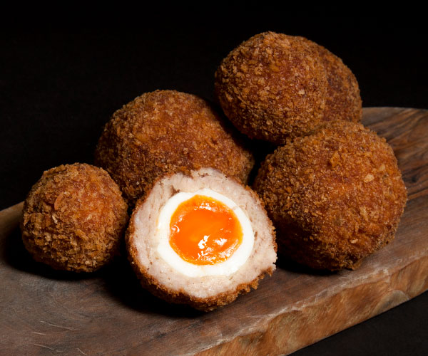 HG Walter Scotch eggs