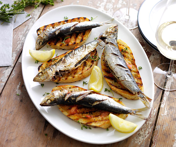 Ben Tish sardines