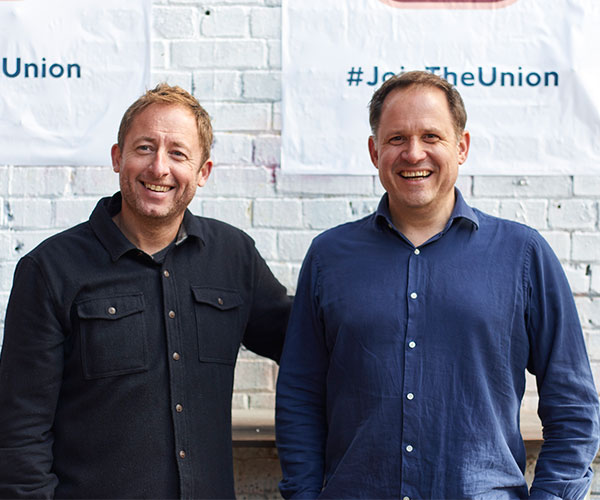London Union's founders Jonathan Downey and Henry Dimbleby