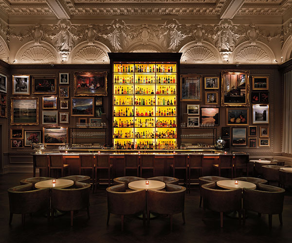 The bar at Berners Tavern