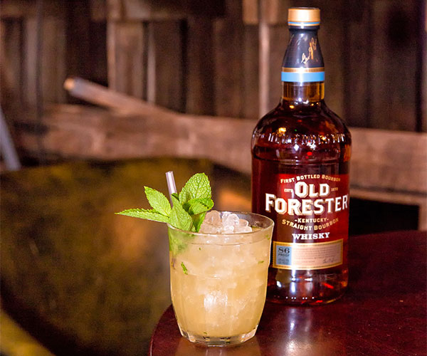 Old Forester's Bourbon Smash