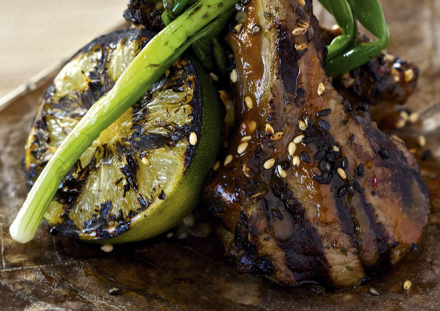 Make Kurobuta's tea-smoked barbecue lamb | Foodism